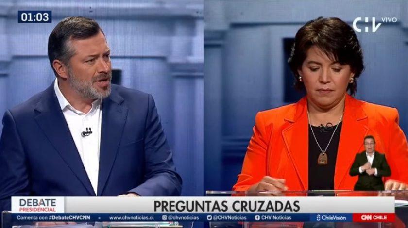Yasna Provoste cometió un error fatal en el debate presidencial.