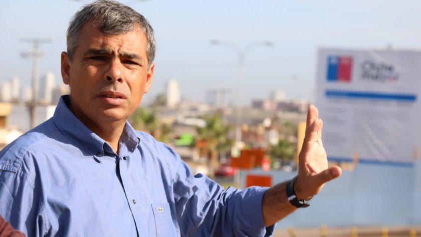 Mauricio Soria, alcalde de Iquique.