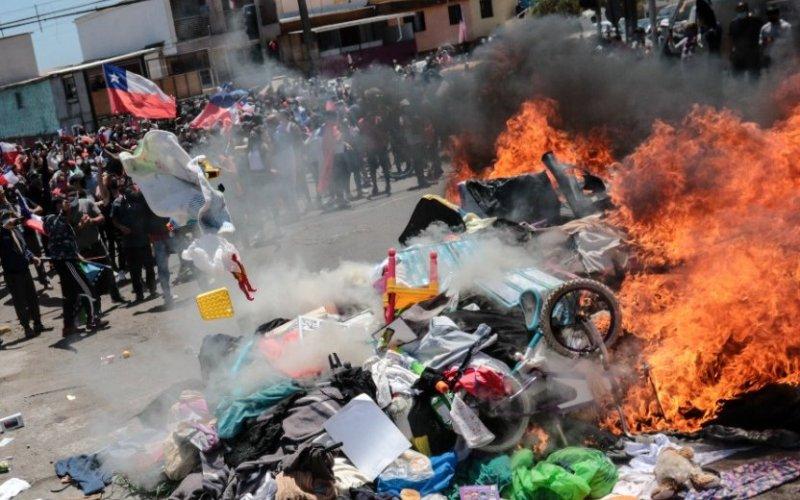 La gente de Iquique se aburrió de la delincuencia traída desde Venezuela.