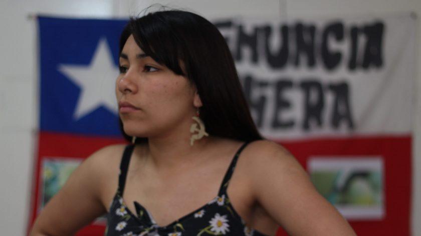La constituyente Valentina Miranda.