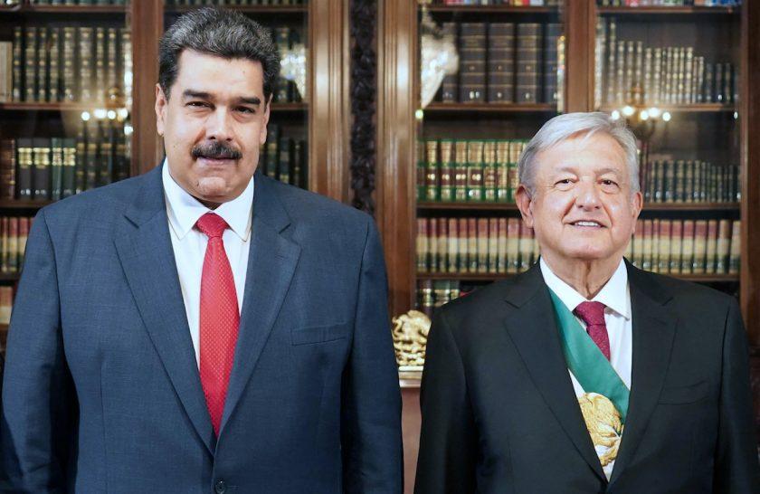 Nicolás Maduro y AMLO exigieron a España que se disculpe de una vez por todas.